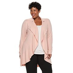 Plus Size Napa Valley Cascade Long Cardigan