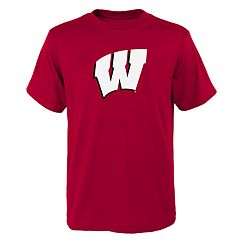Boys 4-18 Wisconsin Badgers Primary Logo Tee
