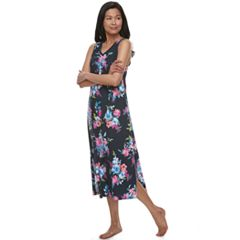 Women's Croft & Barrow® Printed Maxi Nightgown