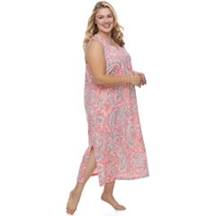 Plus Size Croft & Barrow® Printed Maxi Nightgown
