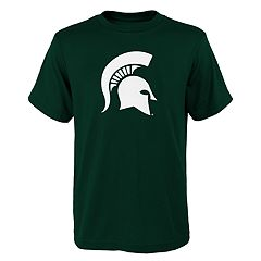 Boys 4-18 Michigan State Spartans Primary Logo Tee