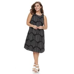 Plus Size Apt. 9® High-Low Shift Dress