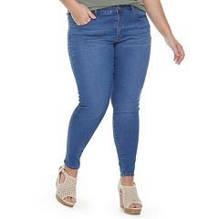 Juniors' Plus SO® Low Rise Jeggings