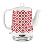 Bella Ikat-Print Electric Kettle