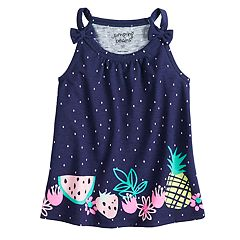 Toddler Girl Jumping Beans® Fruit Shoulder Bow Graphic Tank Top