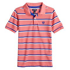 Boys 4-20 Chaps Clark Striped Polo