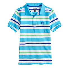 Boys 4-20 Chaps Cabe Striped Polo