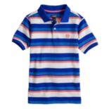 Boys 4-20 Chaps Striped Stretch Polo