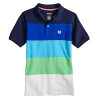 Boys 4-20 Chaps Rugby Striped Stretch Polo