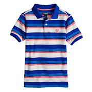 Boys 4-20 Chaps Alex Striped Polo