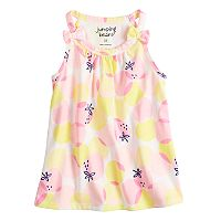 Toddler Girl Jumping Beans® Shoulder Bow Patterned Tank Top