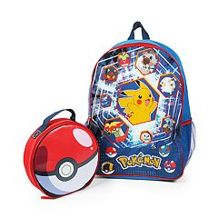 Kids Pokemon Backpack & Lunch Bag Set