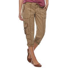 Women's SONOMA Goods for Life™ Utility Capri Pants