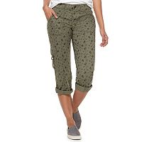 Women's SONOMA Goods for Life™ Ultra Comfortwaist Utility Capri Pants