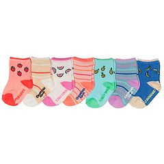 Baby / Toddler Girl OshKosh B'gosh® 7-pack Fruit Crew Socks