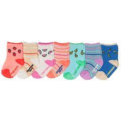 Baby / Toddler Girl OshKosh B'gosh® 7-pack Fruit Crew Socks