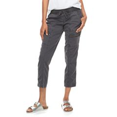 Women's SONOMA Goods for Life™ Zipper Accent Utility Capris