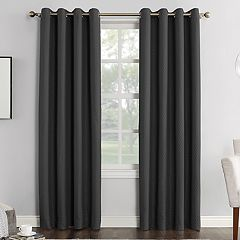 Sun Zero Bowery Home Theater Grade Extreme Blackout Window Curtain