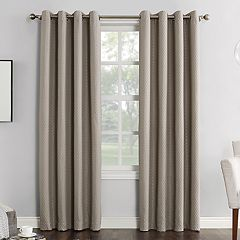 Sun Zero Blackout 1-Panel Extreme Bowery Theater Grade Window Curtain