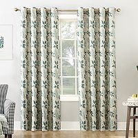 Sun Zero Calisa Home Theater Grade Extreme Blackout Window Curtain
