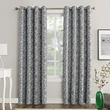 Sun Zero Dagmar Botanical Paisley Theater Grade Extreme 100% Blackout Grommet Curtain Panel