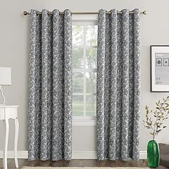 Sun Zero Dagmar Home Theater Grade Extreme Blackout Window Curtain