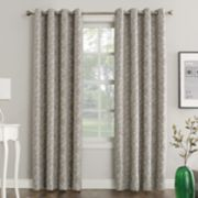 Sun Zero Extreme Dagmar Theater Grade Blackout Window Curtain