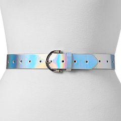 Women's Mudd® Iridescent Belt