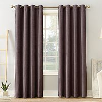 Sun Zero Estate Home Theater Grade Extreme Blackout Window Curtain