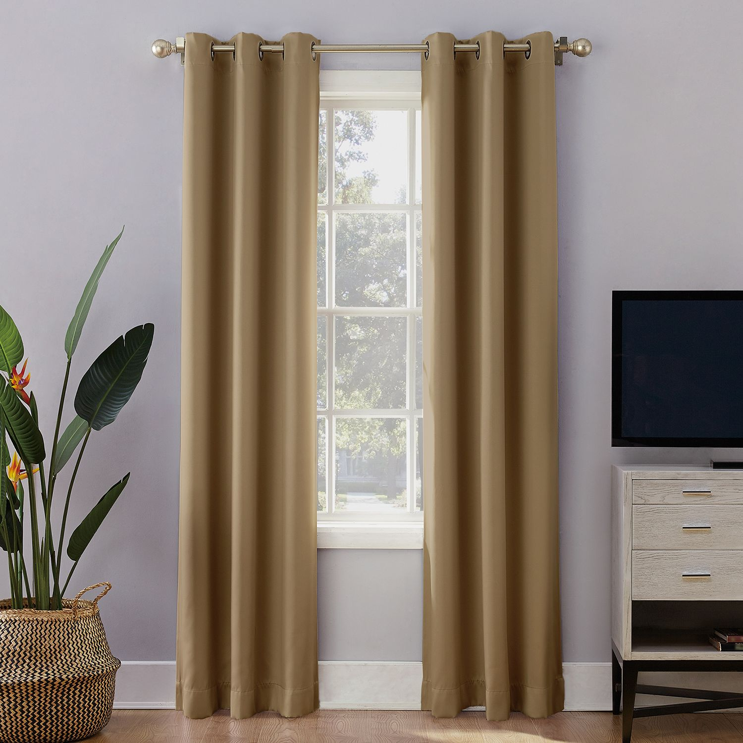 Delicieux Sun Zero Extreme 2 Pack Norway Theater Grade Blackout Window Curtain