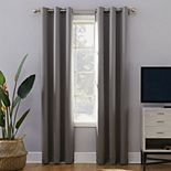 Sun Zero Extreme 2-Pack Norway Theater Grade 100% Blackout Window Curtain