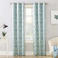 Sun Zero Extreme 2-Pack Stelle Theater Grade Blackout Window Curtain