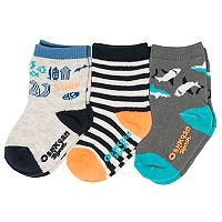 Baby / Toddler Boy OshKosh B'gosh® 3-pack Shark Crew Socks