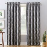 Sun Zero Blackout 1-Panel Extreme Lilith Theater Grade Window Curtain