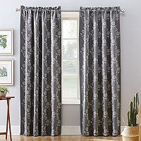 Sun Zero Lilith Home Theater Grade Extreme Blackout Window Curtain