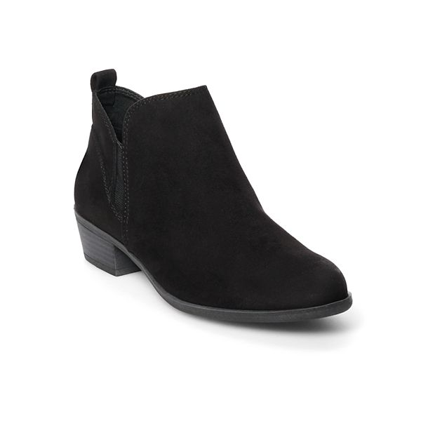 Womens Black Ankle Boots