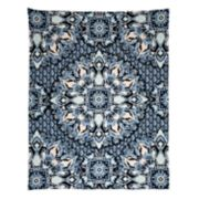Simple by Design Blue Medallion Wall Tapestry