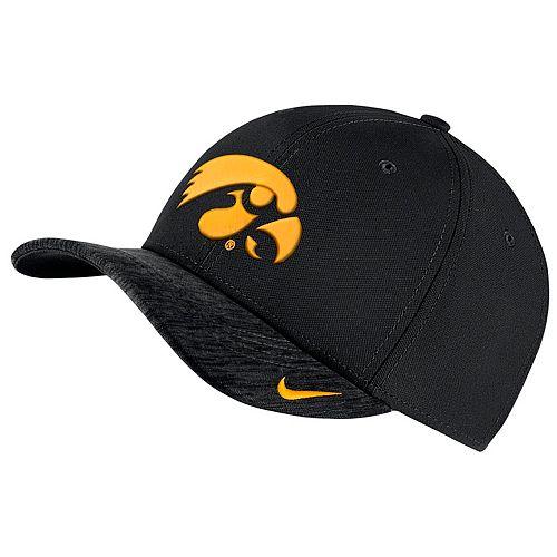 Adult Nike Iowa Hawkeyes Sideline Dri-FIT Cap
