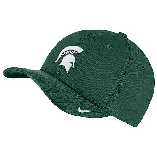 Adult Nike Michigan State Spartans Sideline Dri-FIT Cap