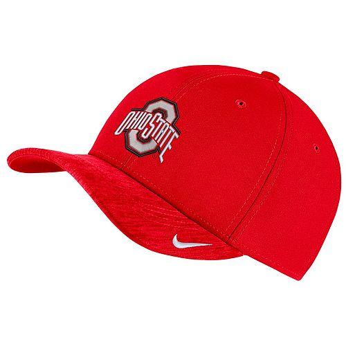 Adult Nike Ohio State Buckeyes Sideline Dri-FIT Cap