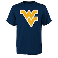 Boys 4-18 West Virginia Mountaineers Primary Logo Tee