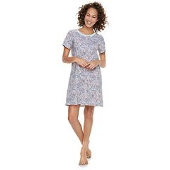 Women's Jammies For Your Families Floral Nightgown