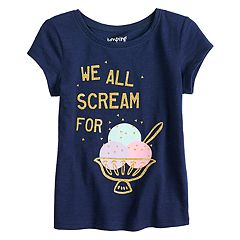 Toddler Girl Jumping Beans® 'We All Scream For Ice Cream' Graphic Tee