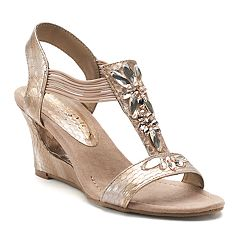 New York Transit News Worthy Women's Wedge Sandals