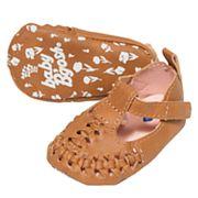 Baby Girl OshKosh B'gosh® Woven Sandal Crib Shoes