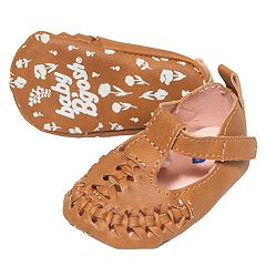 Baby Girl OshKosh B'gosh® Woven Sandal Crib Shoes