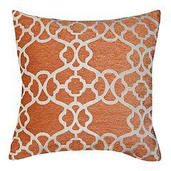 Spencer Home Decor Nina Lattice Jacquard Throw Pillow