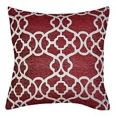 Spencer Home Decor Nina Lattice Jacquard Throw Pillow