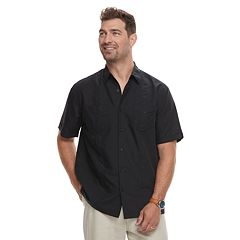 Men's Havanera Short Sleeve Pintuck Button-Down Shirt
