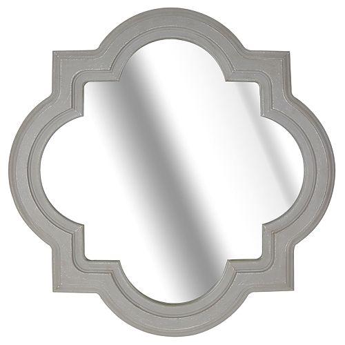 Belle Maison Quatrefoil Wall Mirror